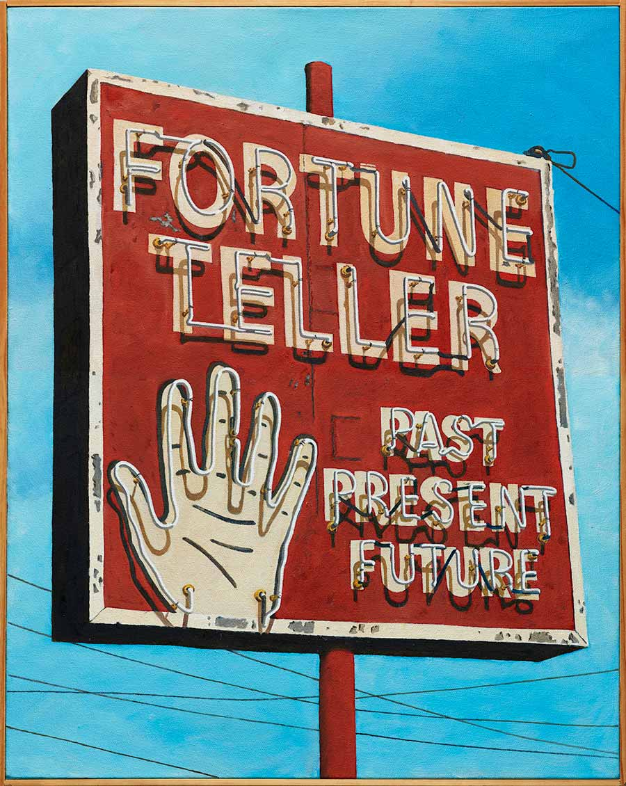 Fortune Teller by Jim Parkinson