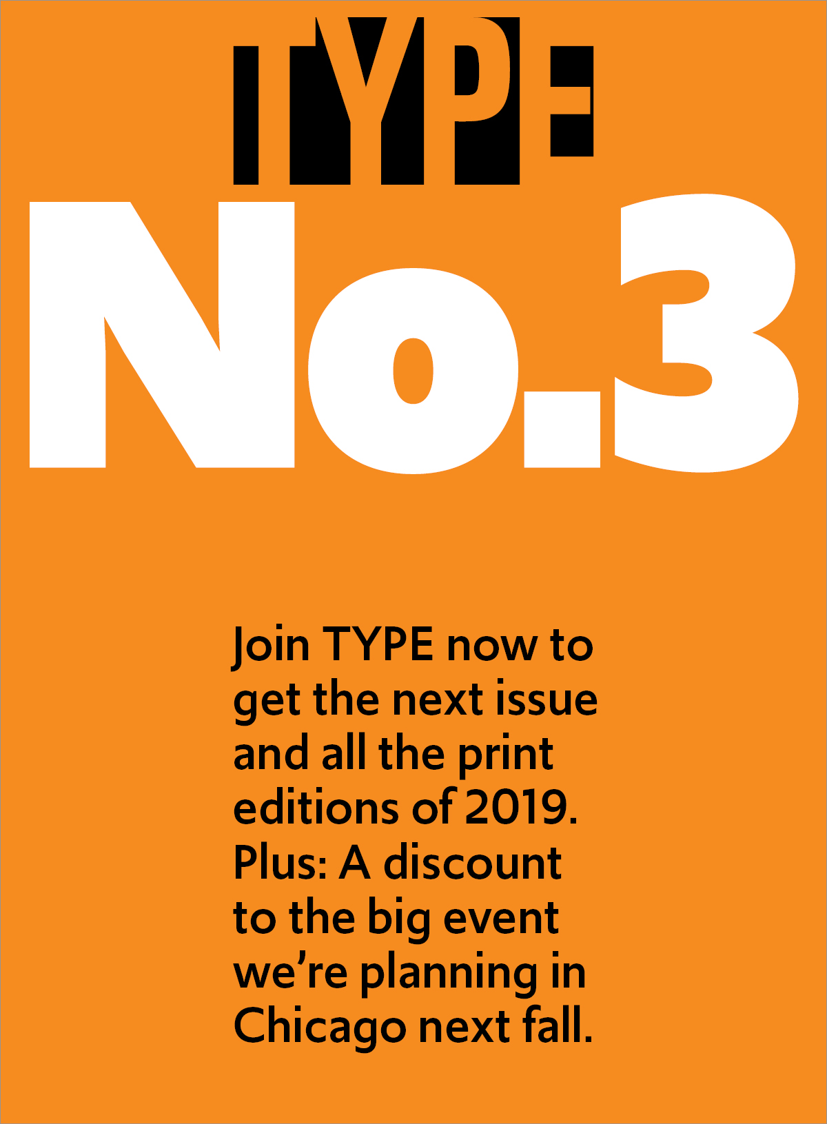 TYPE Nº3 cover