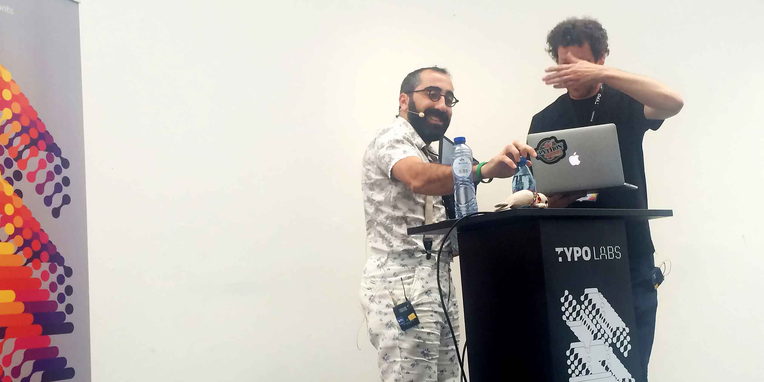 Bedhad Esfahbod & Just van Rossum talk