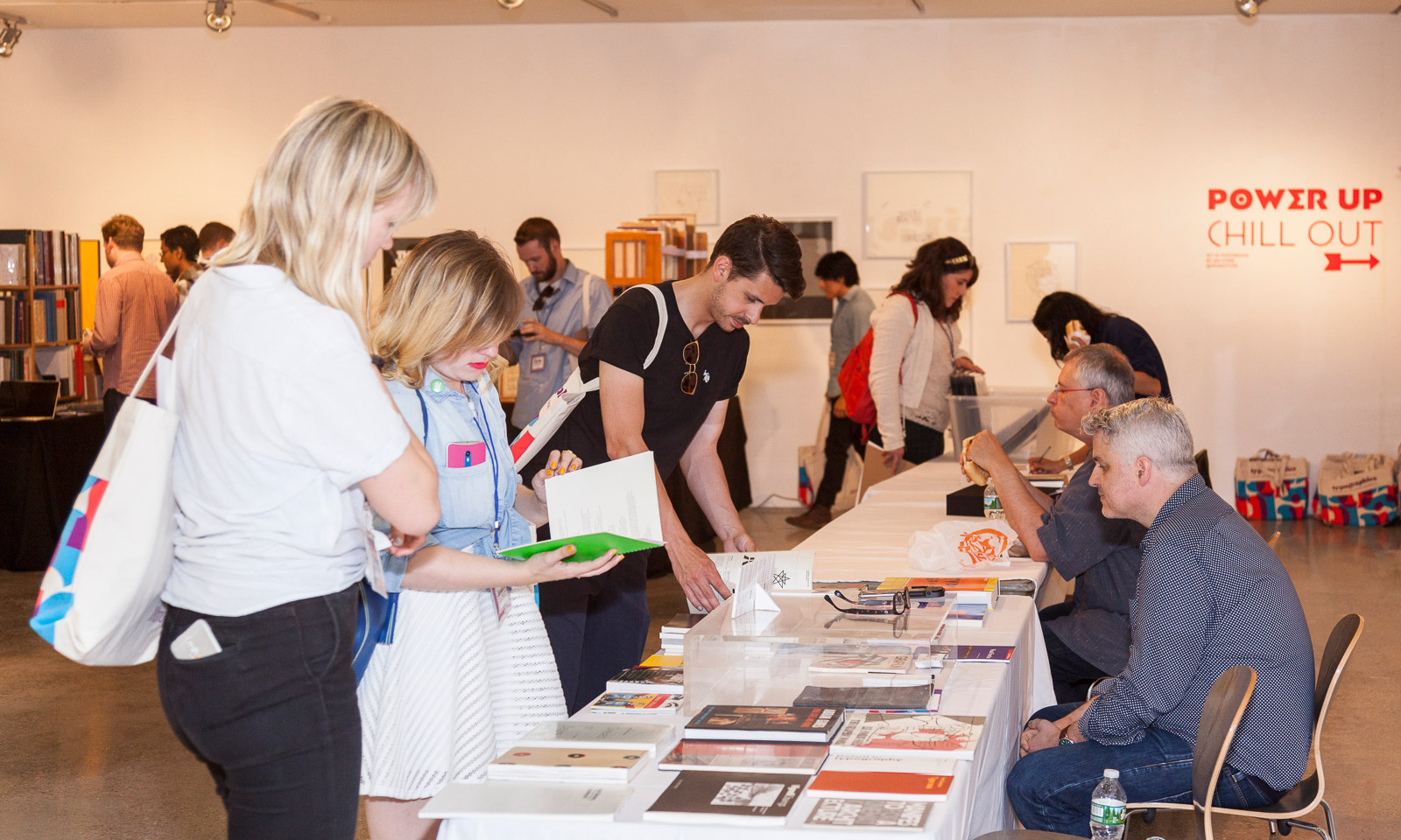 The Typographics Book Fair. Courtesy of The Cooper Union / Photo by Marget Long.